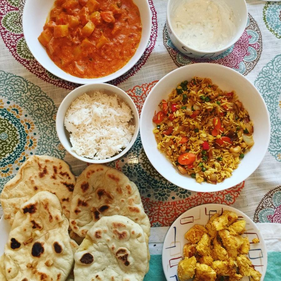 Homemade Indian