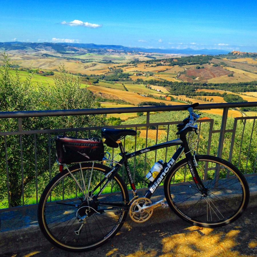 Cycling Tuscany In My Dreams